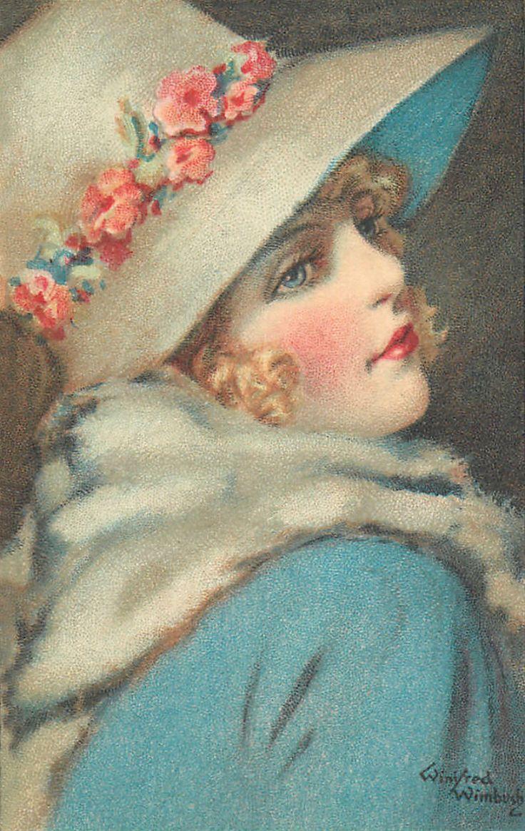 """Des élégantes  """"chapeautées"""" ... - Page 24 27c63a10"""