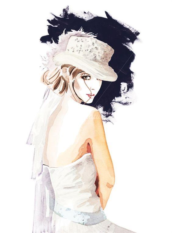 """Des élégantes  """"chapeautées"""" ... - Page 24 39c23710"""