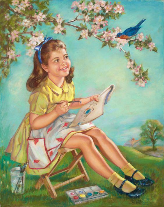"""""""Une peinture pour rêver, voyager, s'émouvoir ...  - Page 4 3a270d10"""