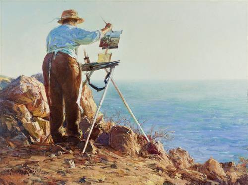 """""""Une peinture pour rêver, voyager, s'émouvoir ...  3cb1d810"""