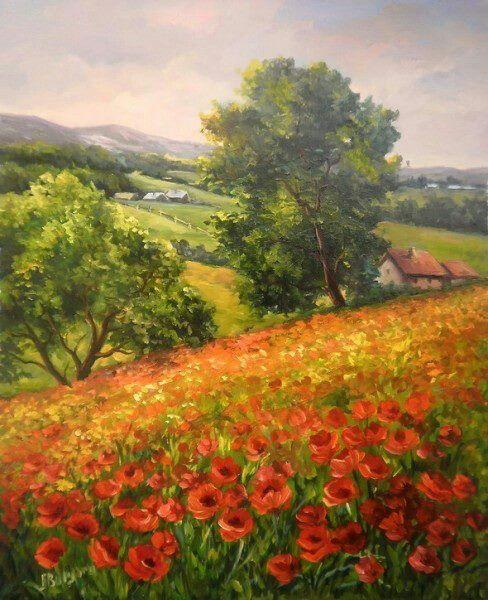 Tous les paysages en peinture. - Page 16 3ee51a10