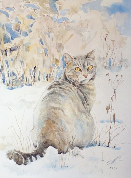 Les animaux peints à l'AQUARELLE - Page 13 40309610