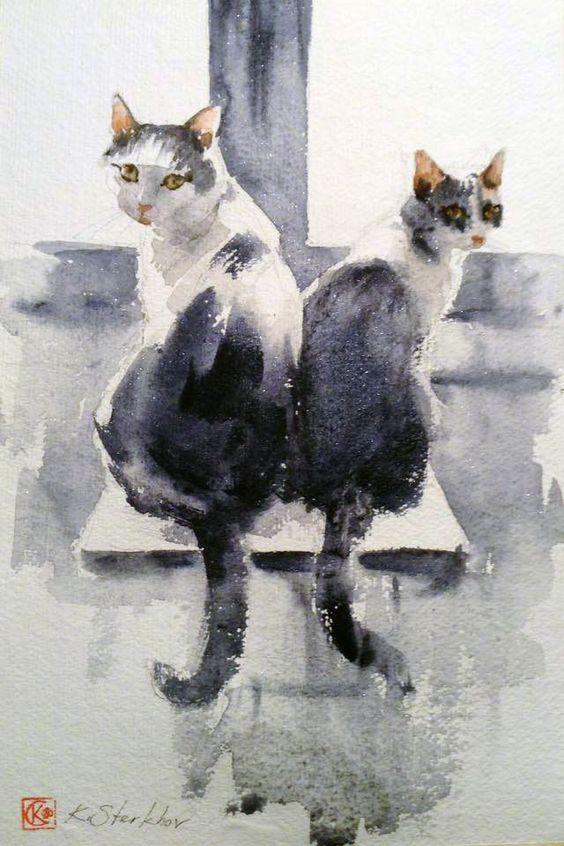 Les animaux peints à l'AQUARELLE - Page 15 43e0f010