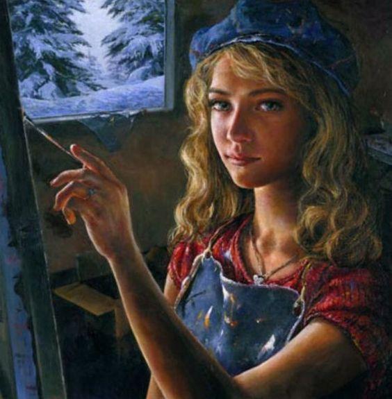 """""""Une peinture pour rêver, voyager, s'émouvoir ...  44b3dc10"""
