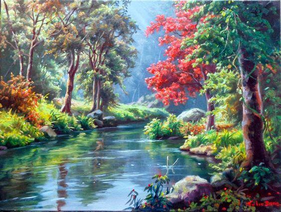 L'eau paisible des ruisseaux et petites rivières  - Page 23 46667710