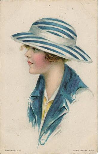 """Des élégantes  """"chapeautées"""" ... - Page 25 507d3f10"""