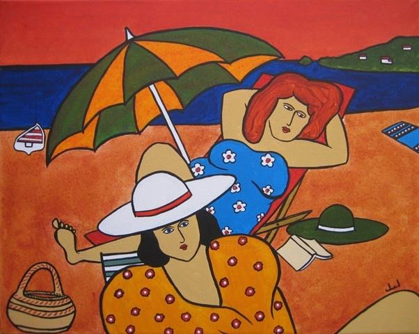 """Illustrations ... pour l'été ... Plage et """"farniente"""" ... - Page 22 51007010"""