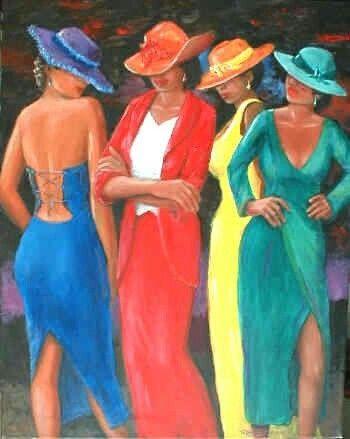 """Des élégantes  """"chapeautées"""" ... - Page 19 5c4e9410"""