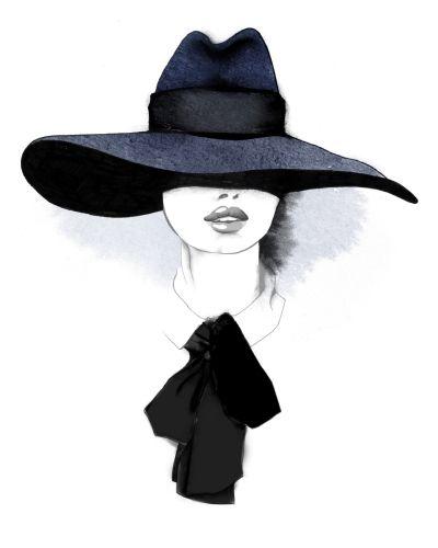"""Des élégantes  """"chapeautées"""" ... - Page 24 5e550810"""