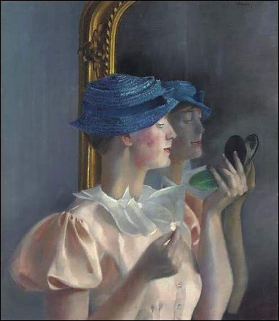 """Des élégantes  """"chapeautées"""" ... - Page 23 5e993a10"""