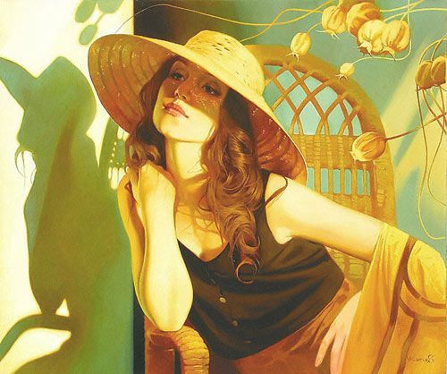 """Des élégantes  """"chapeautées"""" ... - Page 22 603ba510"""