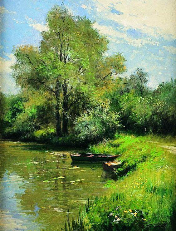 Tous les paysages en peinture. - Page 15 619d9310