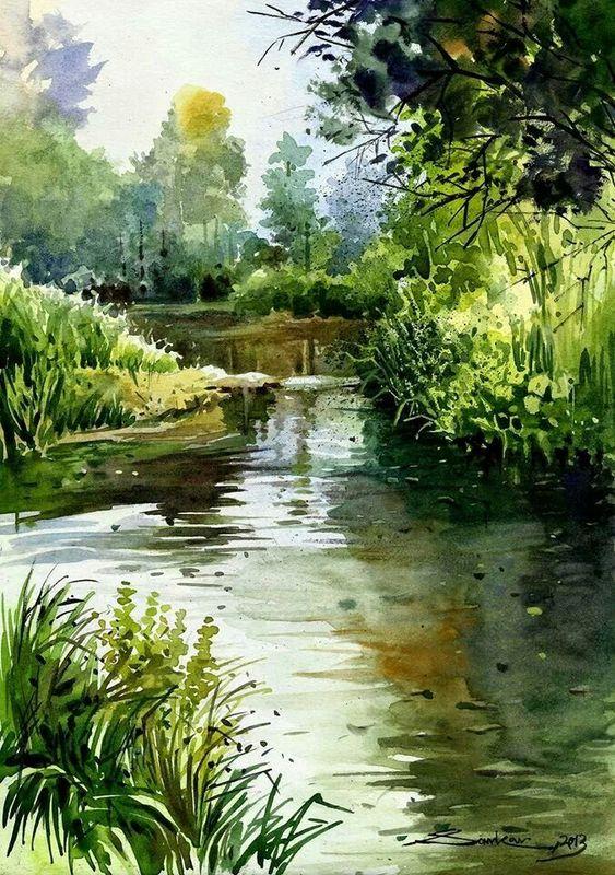 L'eau paisible des ruisseaux et petites rivières  - Page 22 654ade10