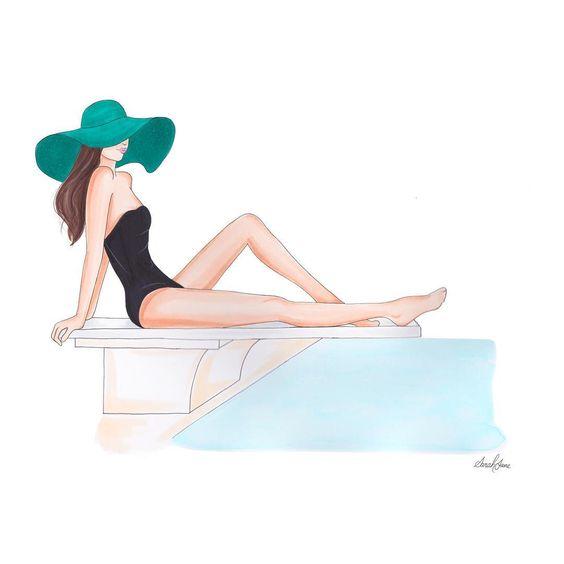"""Illustrations ... pour l'été ... Plage et """"farniente"""" ... - Page 23 6863d110"""