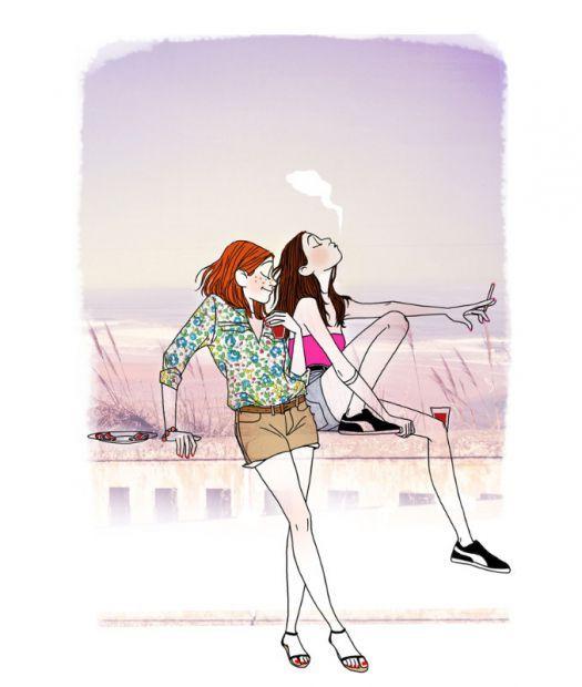 """Illustrations ... pour l'été ... Plage et """"farniente"""" ... - Page 21 6b9c1a10"""