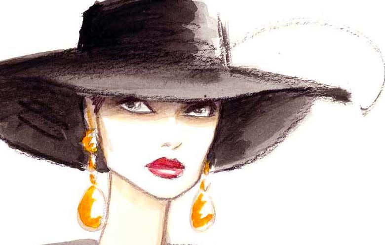 """Des élégantes  """"chapeautées"""" ... - Page 19 72581810"""