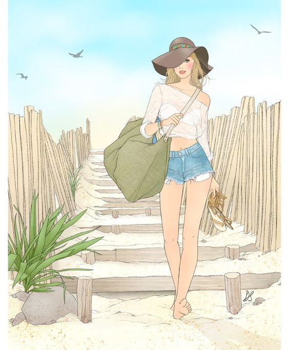"""Illustrations ... pour l'été ... Plage et """"farniente"""" ... - Page 22 76227310"""