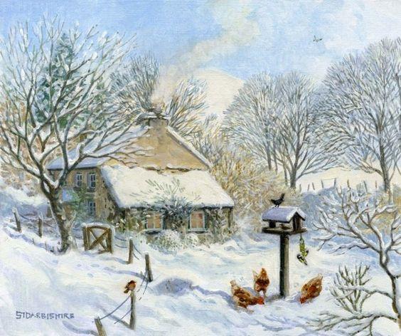 Paysages d'hiver ... 7653b210