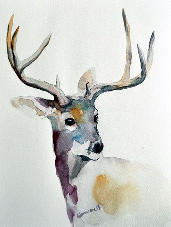 Les animaux peints à l'AQUARELLE - Page 14 7930b410