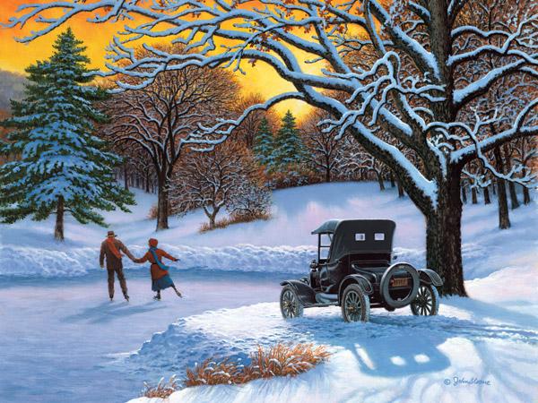 Paysages d'hiver ... 794_la11