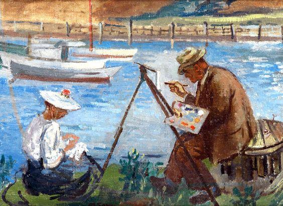 """""""Une peinture pour rêver, voyager, s'émouvoir ...  - Page 4 7e356710"""