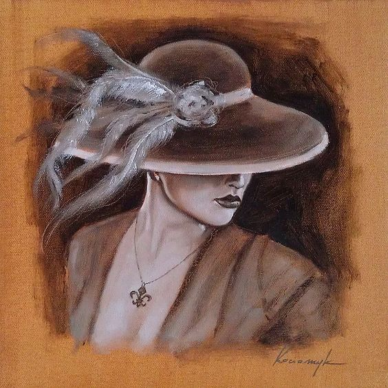 """Des élégantes  """"chapeautées"""" ... - Page 24 7f1a4b10"""