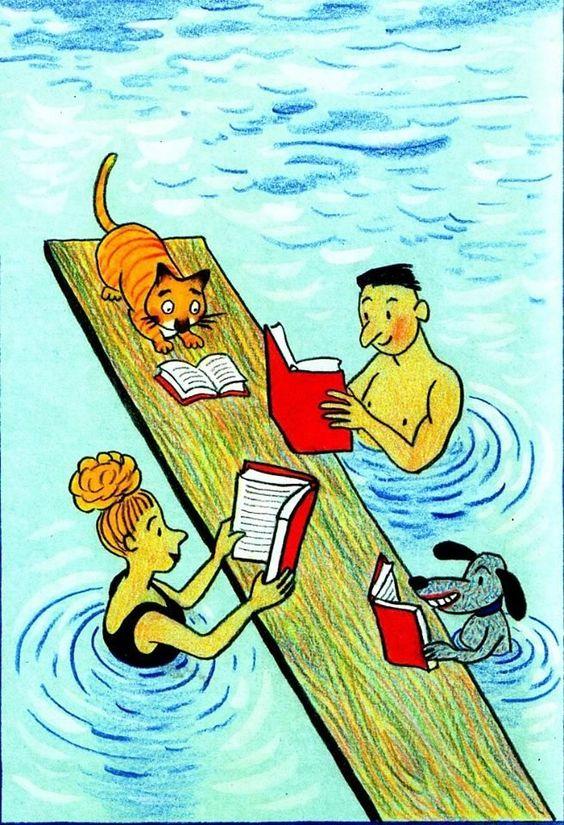 """Illustrations ... pour l'été ... Plage et """"farniente"""" ... - Page 21 82e08b10"""