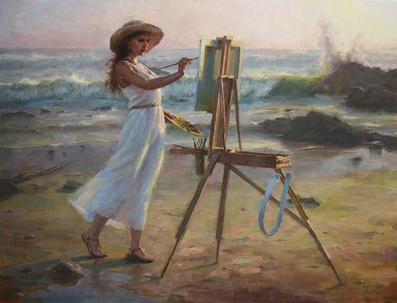 """""""Une peinture pour rêver, voyager, s'émouvoir ...  - Page 3 83f26310"""