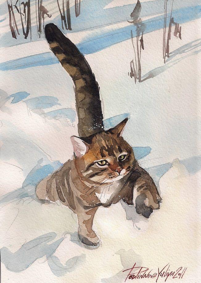 Les animaux peints à l'AQUARELLE - Page 13 86cea810