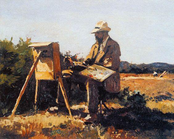 """""""Une peinture pour rêver, voyager, s'émouvoir ...  89ec7d10"""