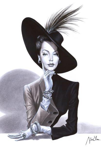 """Des élégantes  """"chapeautées"""" ... - Page 24 8c102910"""