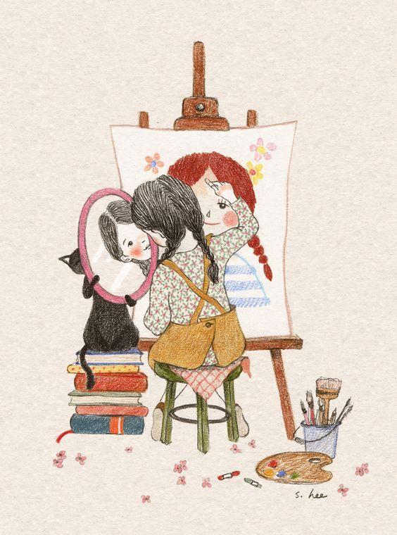 """""""Une peinture pour rêver, voyager, s'émouvoir ...  - Page 4 8c2e2910"""
