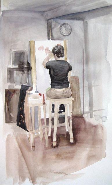 """""""Une peinture pour rêver, voyager, s'émouvoir ...  8d99cc10"""