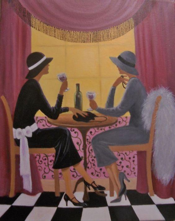 """Des élégantes  """"chapeautées"""" ... - Page 19 921a3c10"""