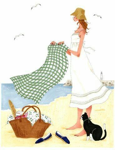 """Illustrations ... pour l'été ... Plage et """"farniente"""" ... - Page 22 971e4510"""