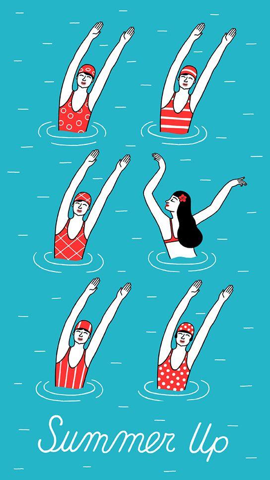 """Illustrations ... pour l'été ... Plage et """"farniente"""" ... - Page 20 9da40210"""