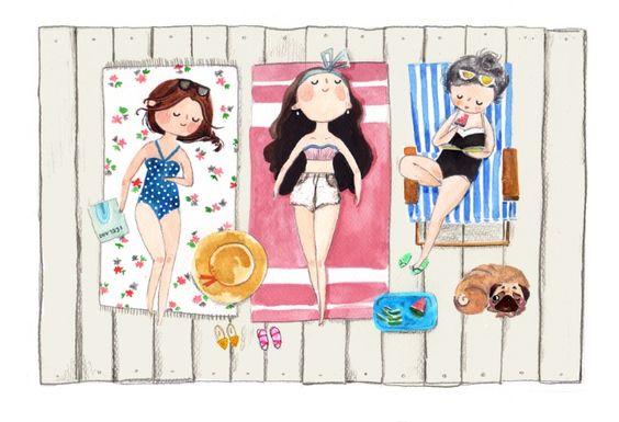 """Illustrations ... pour l'été ... Plage et """"farniente"""" ... - Page 22 A30a1410"""