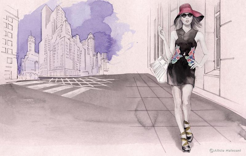 """Des élégantes  """"chapeautées"""" ... - Page 22 Alicia11"""