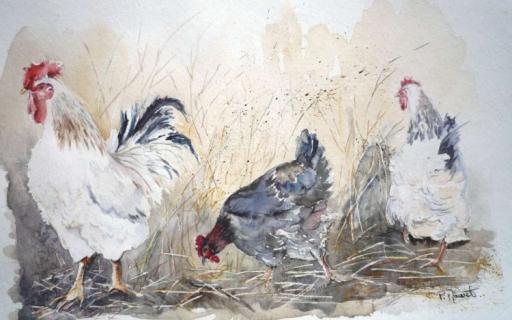 Les animaux peints à l'AQUARELLE - Page 14 Aqua210