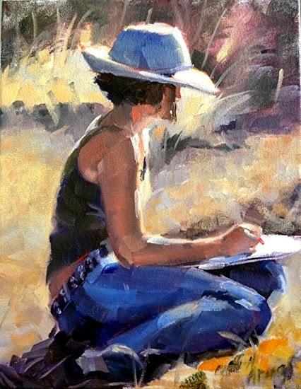 """""""Une peinture pour rêver, voyager, s'émouvoir ...  - Page 2 Arenas10"""