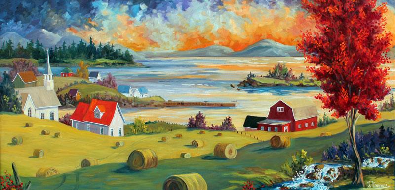 Tous les paysages en peinture. - Page 13 Art-re10
