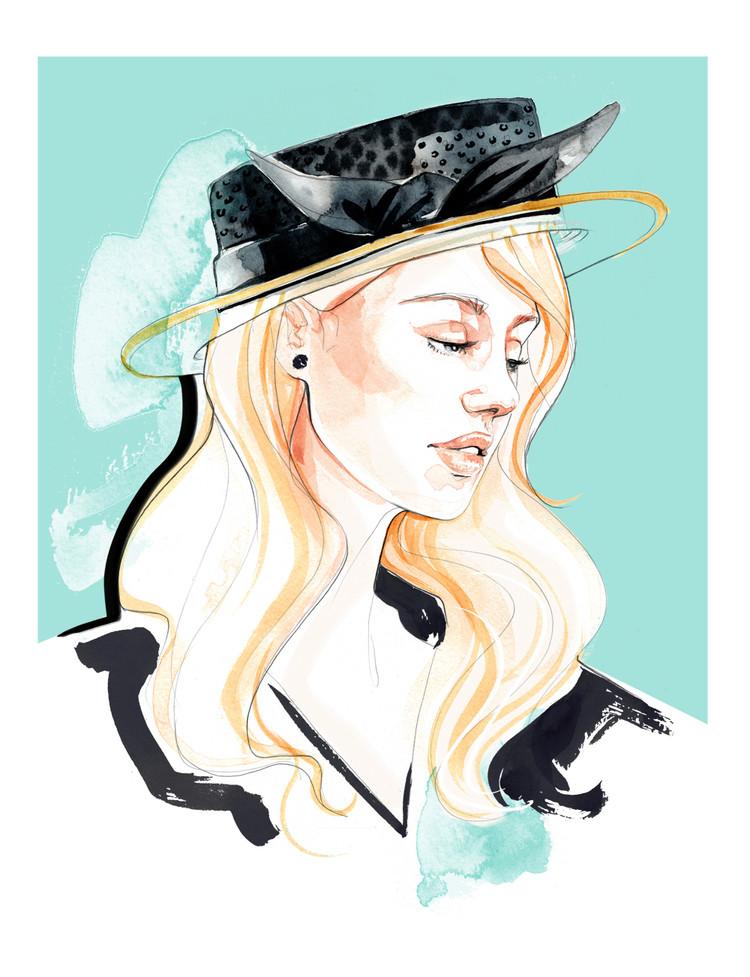 """Des élégantes  """"chapeautées"""" ... - Page 25 Awon-g10"""