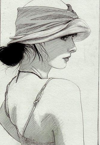 """Des élégantes  """"chapeautées"""" ... - Page 19 B2506610"""