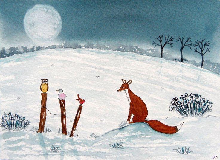 Les animaux peints à l'AQUARELLE - Page 13 B85e0010