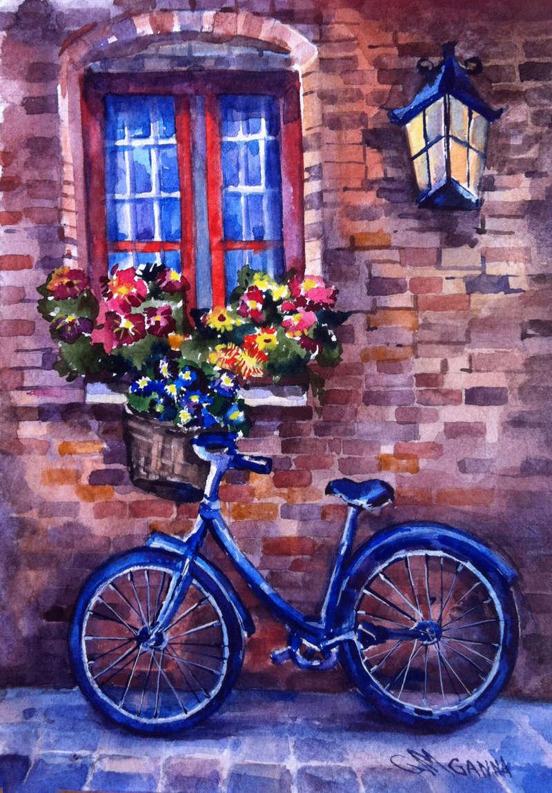 A bicyclette ... B8c63e10