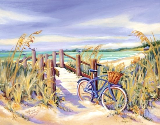 A bicyclette ... Beach-12