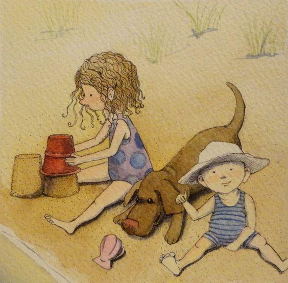 """Illustrations ... pour l'été ... Plage et """"farniente"""" ... - Page 20 Bf9bd510"""
