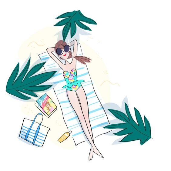 """Illustrations ... pour l'été ... Plage et """"farniente"""" ... - Page 20 C2f02310"""