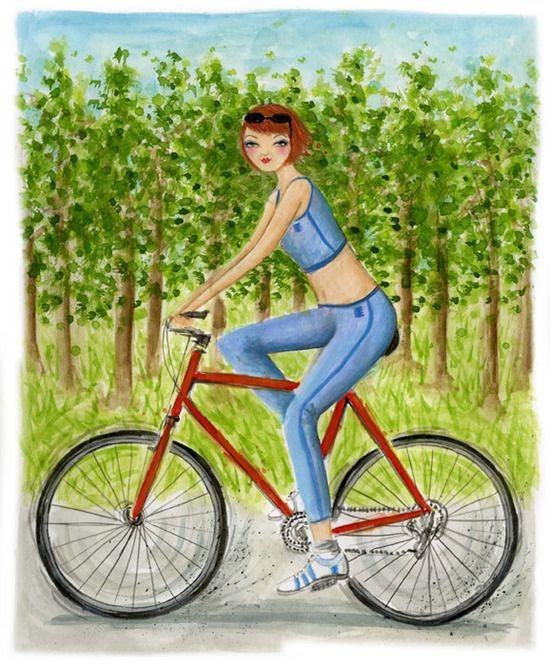 A bicyclette ... C43cc610