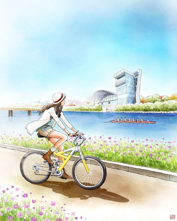 A bicyclette ... - Page 3 Ceca3610